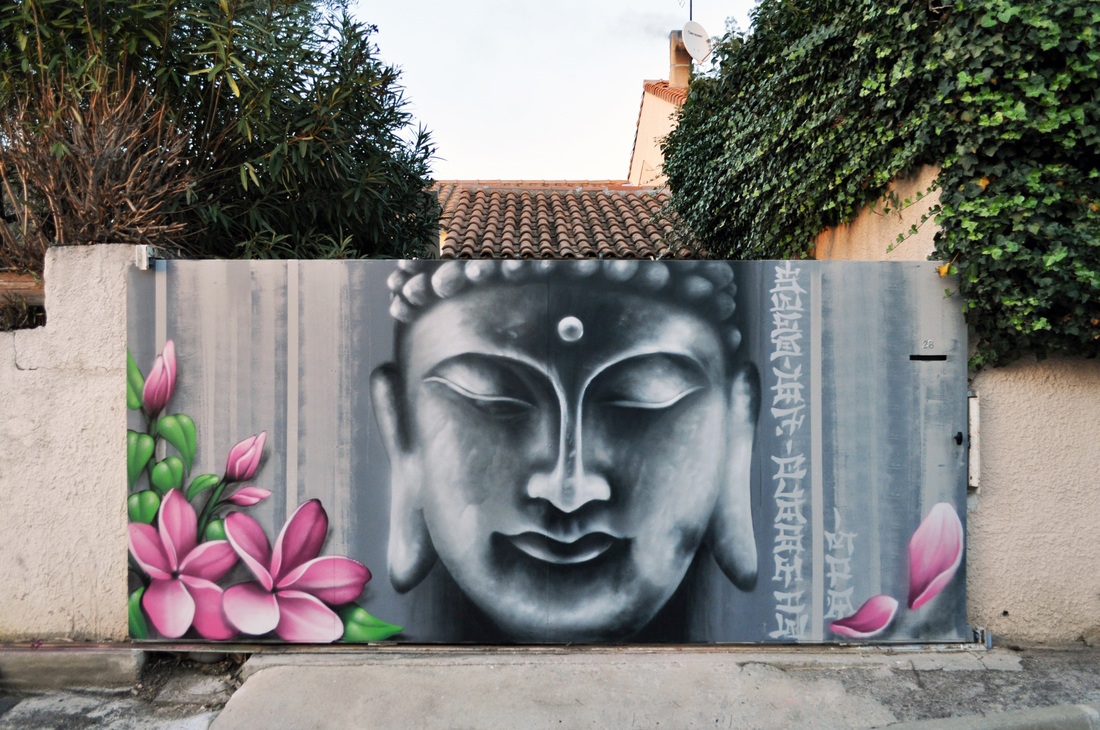 Arttistes graffiti d coration graffiti decoration com for Decoration jardin zen exterieur